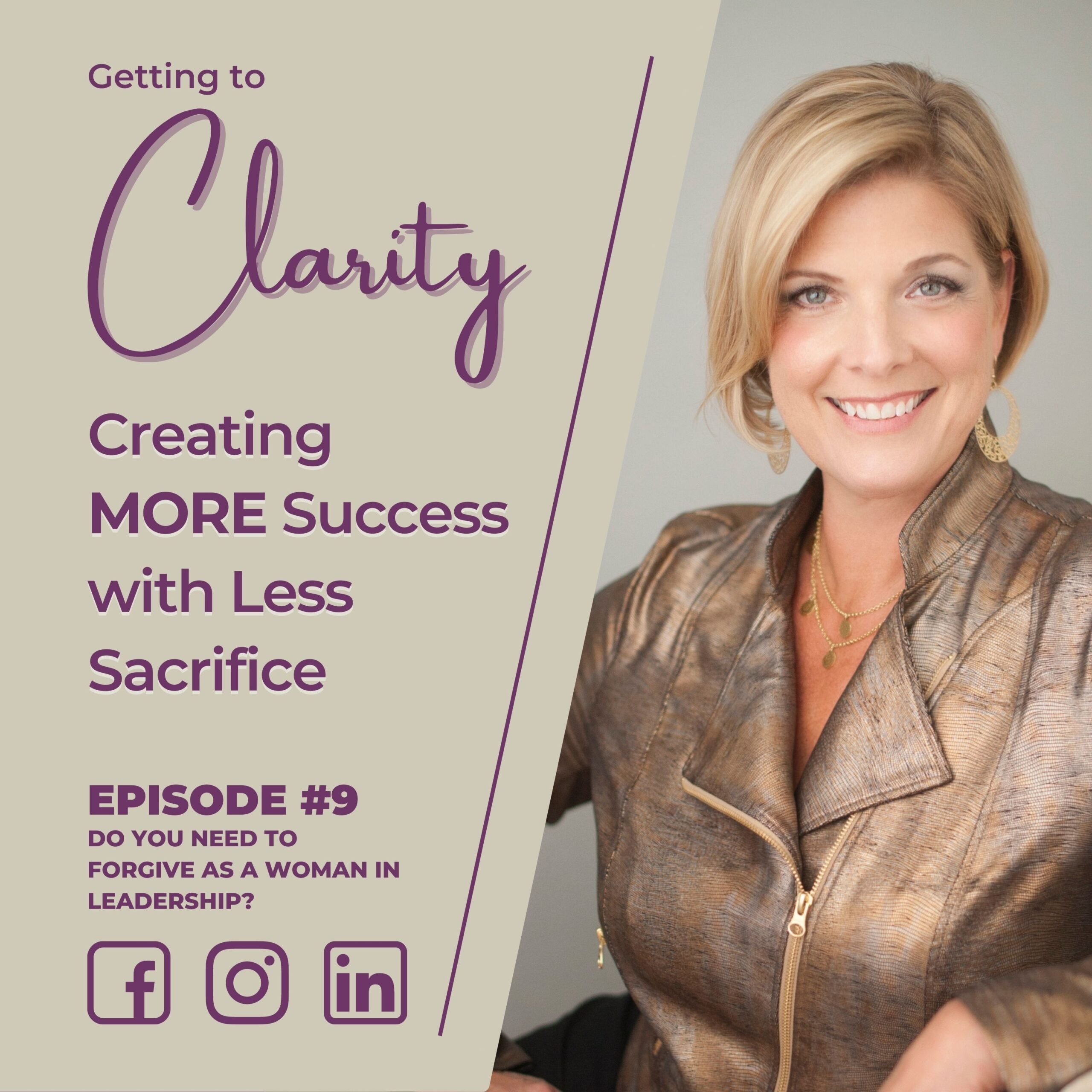 Getting to Clarity Podcast Cover Art - Episode 8