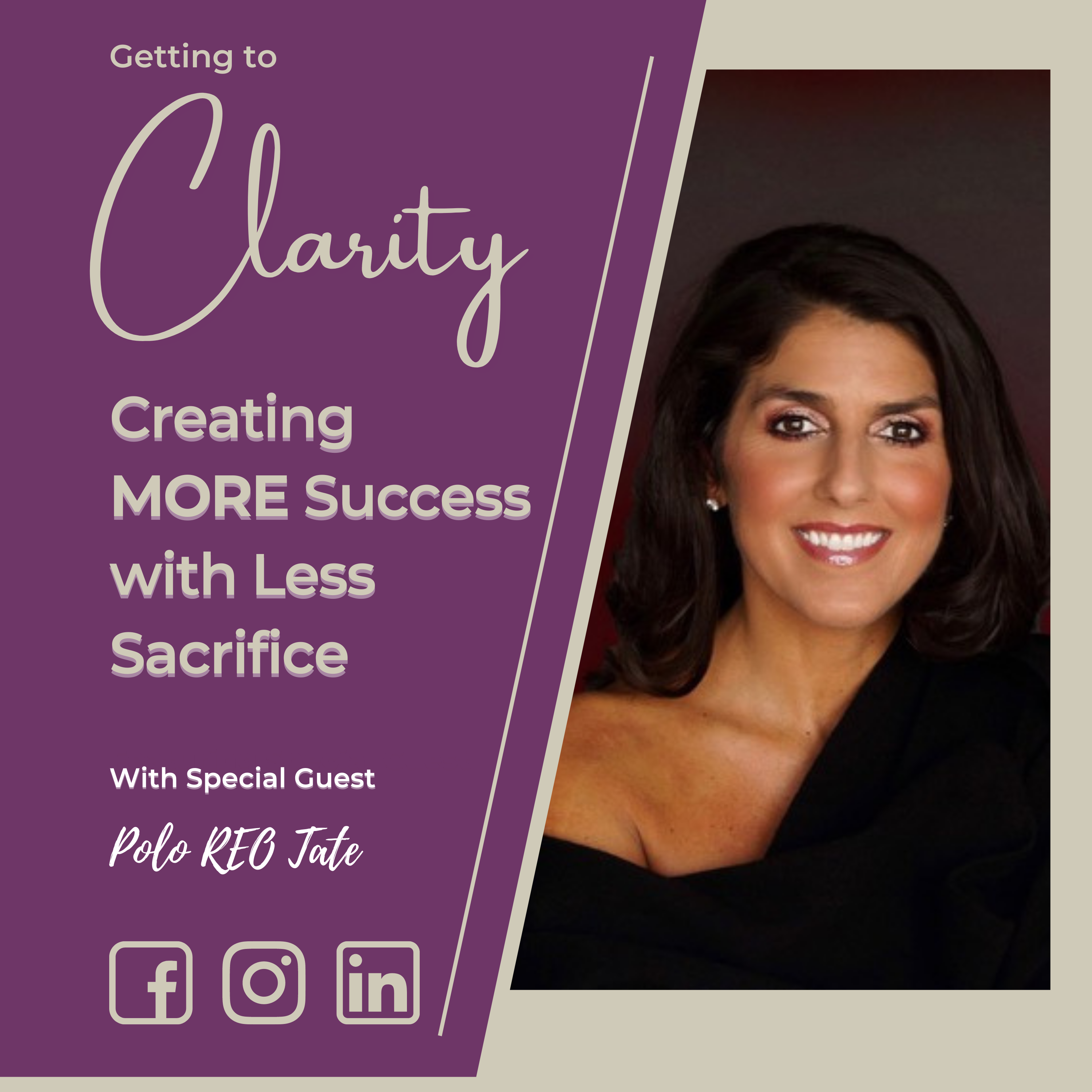 Polo REO Tate on the Getting to Clarity Podcast